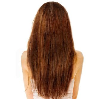 Before Hair Treatment