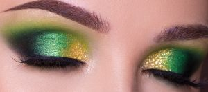 gold-and-green-make-up