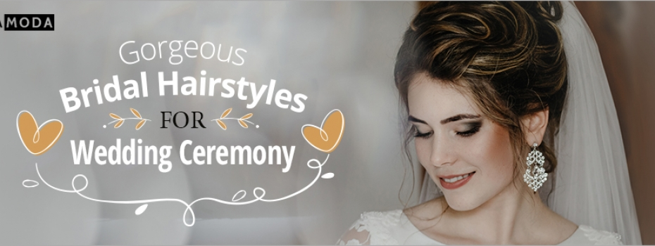 Gorgeous Bridal Hairstyles for Your Wedding Ceremony